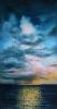 Синий пейзаж с облаками 70Х40_2016